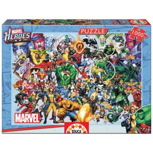 Marvel Heroes Collage Jigsaw Puzzle (1000 Pieces)
