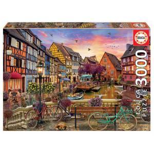 Colmar Canal Jigsaw Puzzle (3000 Pieces)