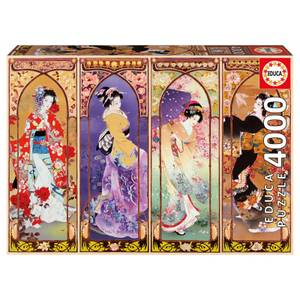 Japanese Collage Jigsaw Puzzle (4000 pieces)