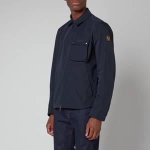 Belstaff Men's Wayfare Zip-Through Overshirt - Dark Ink
