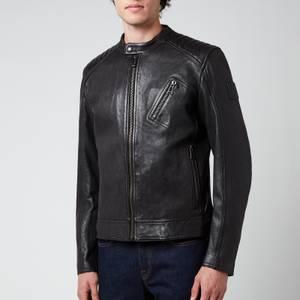 Belstaff Men's V Racer 2.0 Leather Jacket - Black