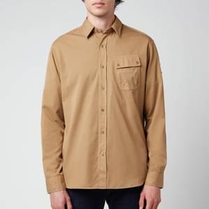 Belstaff Men's Pitch Twill Shirt - Vintage Khaki
