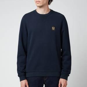 Belstaff Men's Patch Logo Sweatshirt - Dark Ink