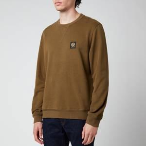 Belstaff Men's Patch Logo Sweatshirt - Salvia