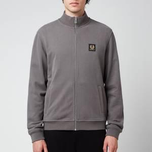 Belstaff Men's Zip-Through Sweatshirt - Granite Grey
