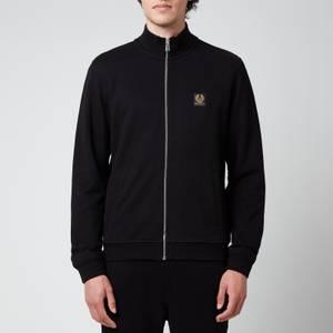Belstaff Men's Zip-Through Sweatshirt - Black