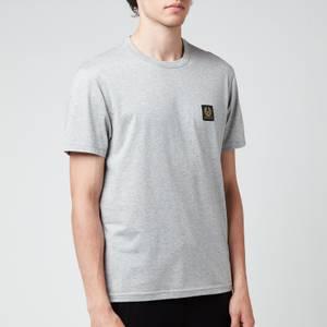 Belstaff Men's Patch Logo T-Shirt - Grey Melange