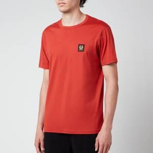 Belstaff Men's Patch Logo T-Shirt - Red Ochre