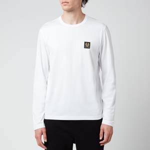 Belstaff Men's Long Sleeve T-Shirt - White