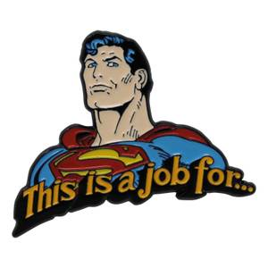 DUST DC Comics Limited Edition Superman Pin Badge