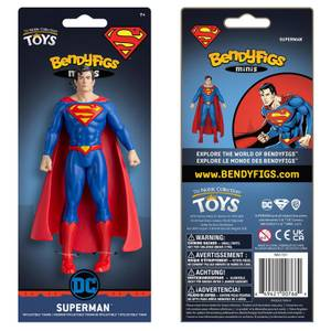 Noble Collection DC Comics Superman Mini Bendyfig 5.5 Inches
