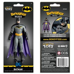 Noble Collection DC Comics Batman Mini Bendyfig 5.5 Inches
