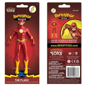 Noble Collection DC Comics Flash Mini Bendyfig 5.5 Inches