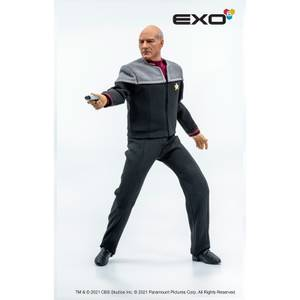 EXO-6 Star Trek: First Contact 1/6 Scale Figure - Captain Jean-Luc Picard