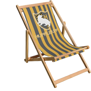 Decorsome x Harry Potter Hufflepuff Deck Chair