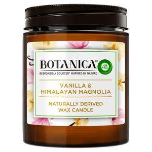 Botanica by Air Wick Vanilla and Himalayan Magnolia Candle 205g