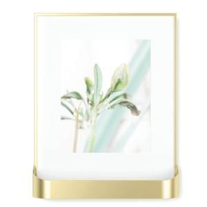 Umbra Matinee Photo Frame - Matte Brass