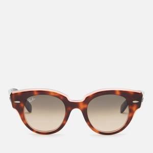Ray Ban Women's Roundabout Round Sunglasses - Tortoise