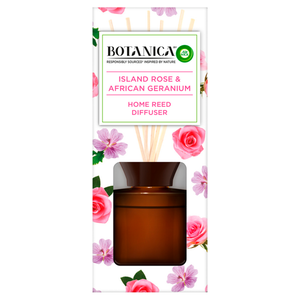 Botanica by Air Wick Island Rose and African Geranium Reed Diffuser 80ml