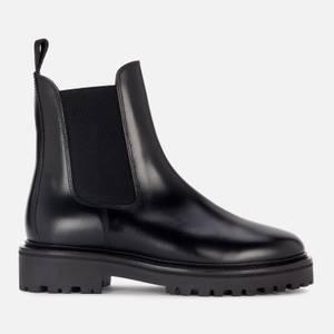 Isabel Marant Women's Castay Leather Chelsea Boots - Black