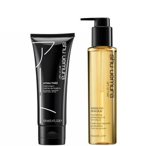Shu Uemura Art of Hair Umou Hold and Essence Absolue Oil Styling Duo