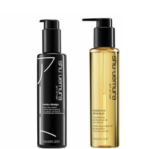 Shu Uemura Art of Hair Netsu Design and Essence Absolue Oil Styling Duo