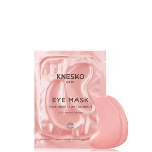 Knesko Skin Rose Quartz Antioxidant Eye Mask 6 Treatments 25ml (Worth £90.00)