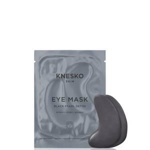 Knesko Skin Black Pearl Detox Eye Mask 6 Treatments 25ml (Worth £90.00)