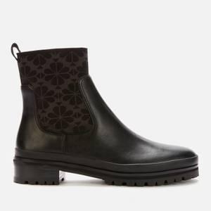 Kate Spade New York Women's Josie Leather Chelsea Boots - Black