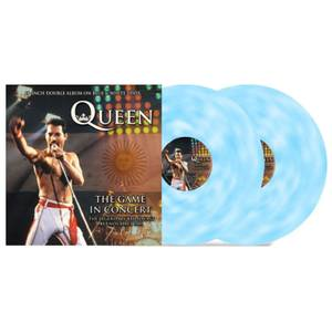Queen - The Game In Concert (Blue & White Vinyl) 2x10""