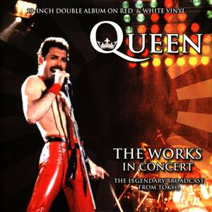 Queen - The Works In Concert (Red & White Vinyl) 2x10""