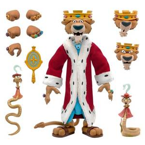 Super7 Disney ULTIMATES! Figure - Prince John with Sir Hiss