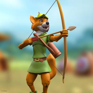 Super7 Disney ULTIMATES! Figure - Robin Hood with Stork Costume