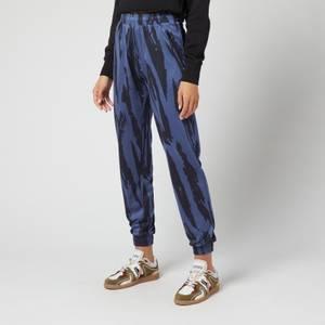 KENZO Women's Jacquard Jogpants - Sapphire