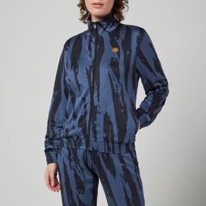 KENZO Women's Jacquard Blouson - Sapphire