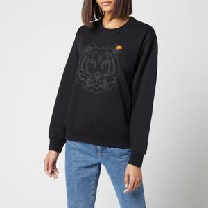 KENZO Women's K-Tiger Classic Sweatshirt - Black