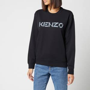 KENZO Women's Logo Classic Sweatshirt - Black