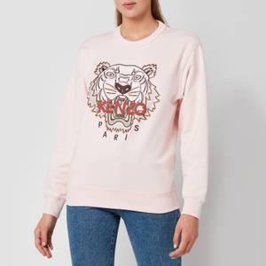 KENZO Women's Classic Tiger Sweatshirt - Faded Pink