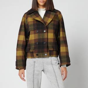 KENZO Women's Blouson Jacket - Dark Brown