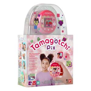Tamagotchi Pix Virtual Pet and Camera Pink Bandai