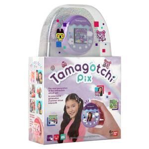Tamagotchi Pix Virtual Pet and Camera Purple Bandai