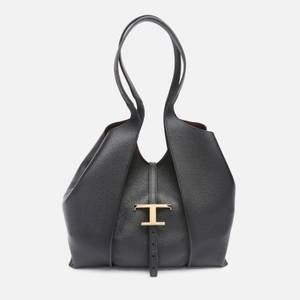 Tod's Women's T Hobo Tote Bag - Black