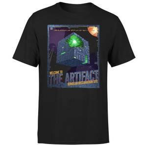 Star Trek: Picard Welcome To The Artifact Men's T-Shirt - Black