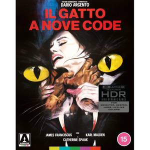 The Cat O' Nine Tails - Limited Edition 4K Ultra HD Arte Originale