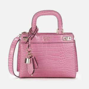 Guess Women's Katey Mini Satchel - Pink