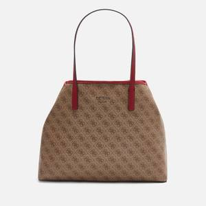 Guess Women's Vikky Large Tote Bag - Brown