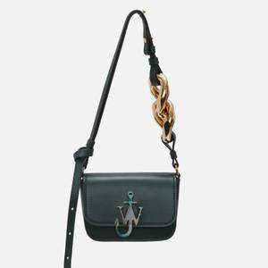JW Anderson Women's Chain Nano Anchor Bag - Forest Green