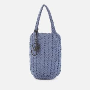 JW Anderson Women's Knitted Shopper - Blue