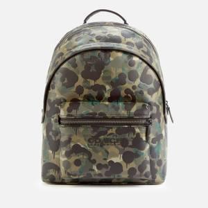 Coach Men's Wild Beast Charter Backpack - Green/Blue