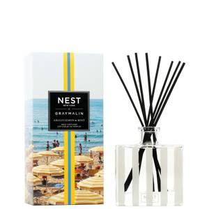 NEST Fragrances x Gray Malin Amalfi Lemon and Mint Reed Diffuser 175ml